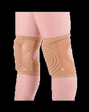 Nakolanniki do pole dance - Ochraniacze na kolana z siateczką - beżowe