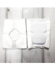 KNEE PADS short, white