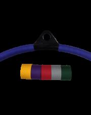 Oklejenie koła aerial hoop ® tejpem